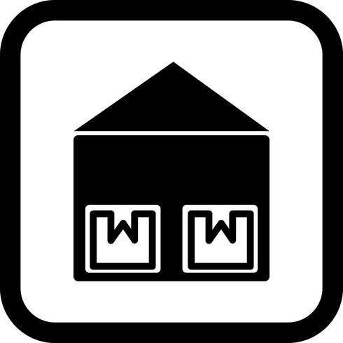 Storage Unit Icon Design vector