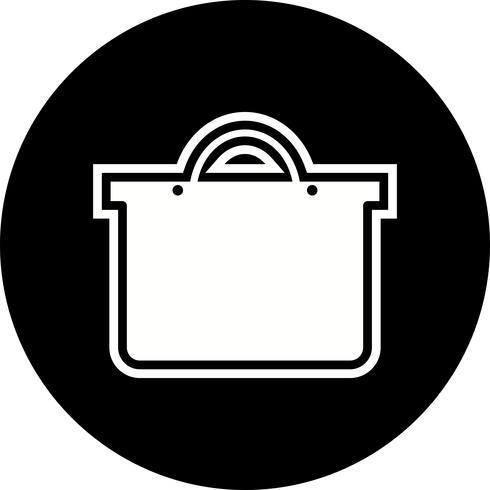 Einkaufstasche Icon Design