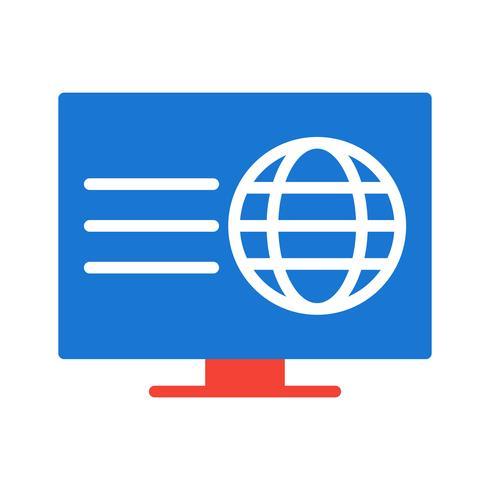 Diseño de icono de página web