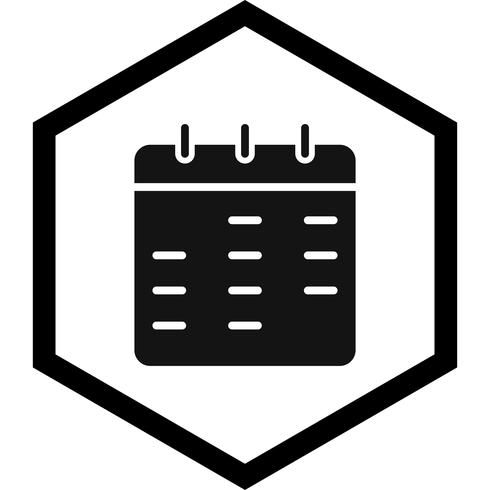 Calendar Icon Design vector