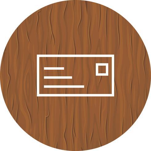 ID Card Icon Design vector