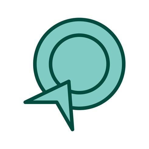 Pay Per Click Icon Design vector