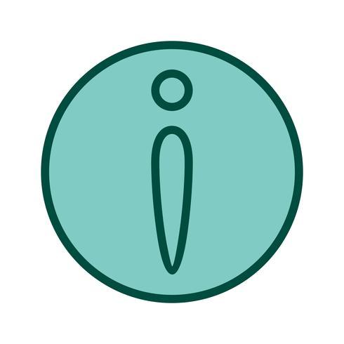 Diseño de iconos de información vector