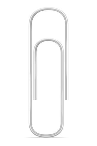stationär pappersklipp lager vektor illustration