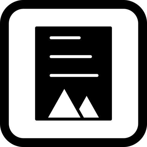 Document Icon Design vector