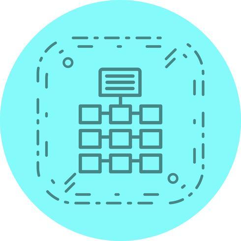 Netwerk pictogram ontwerp