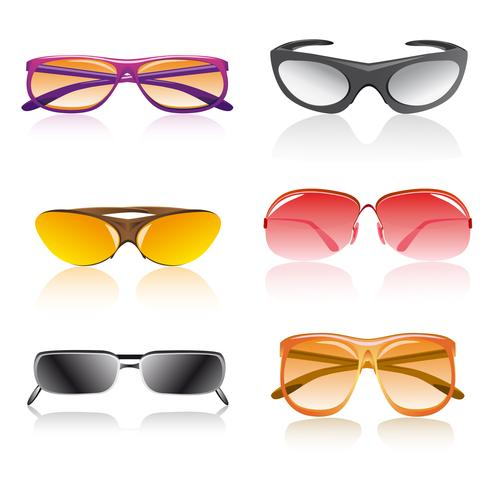 occhiali da sole vettore
