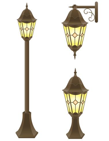 illustrazione vettoriale lampione