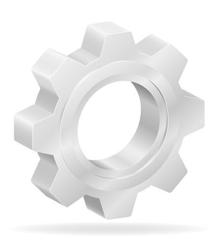 pictogram versnelling vector illustratie