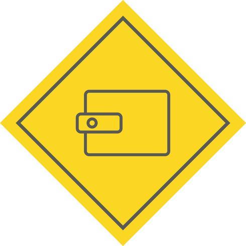 Wallet Icon Design vector