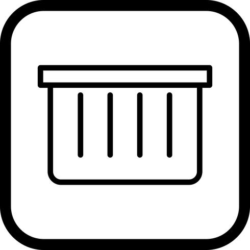 Basket Icon Design vector