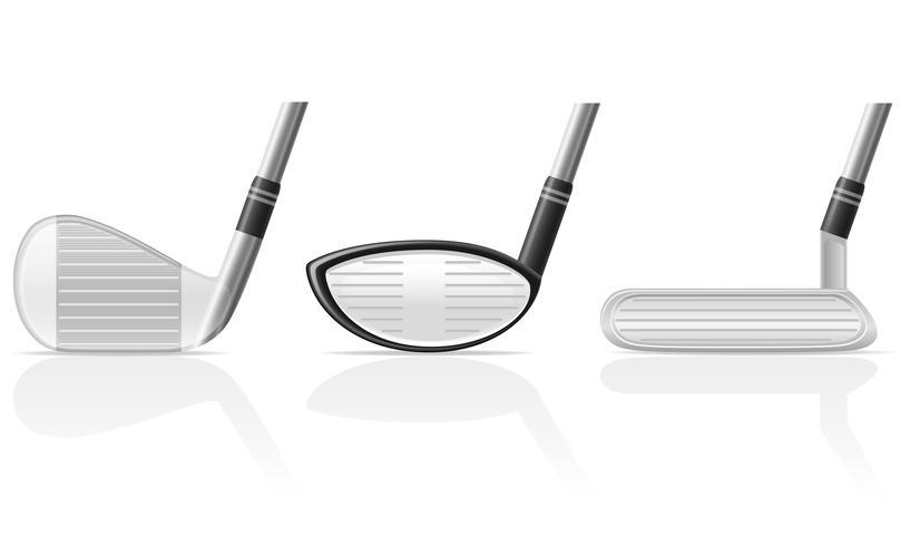 Golfclub-Vektor-Illustration