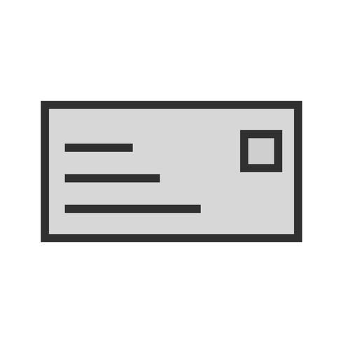 Design de ícone de cartão de identificação vetor