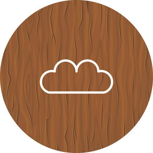 moln ikon design vektor