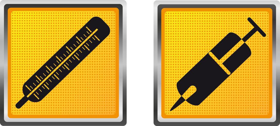 médecine des icônes pour l'illustration vectorielle de conception vecteur