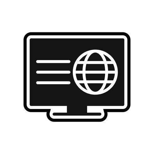 Webpage Icon Design vector