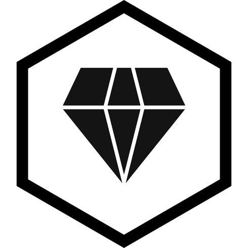 conception d'icône de diamant