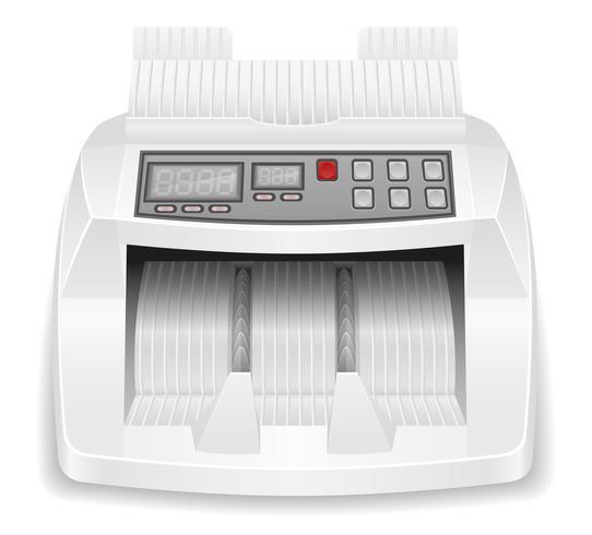 money counter stock vector illustration