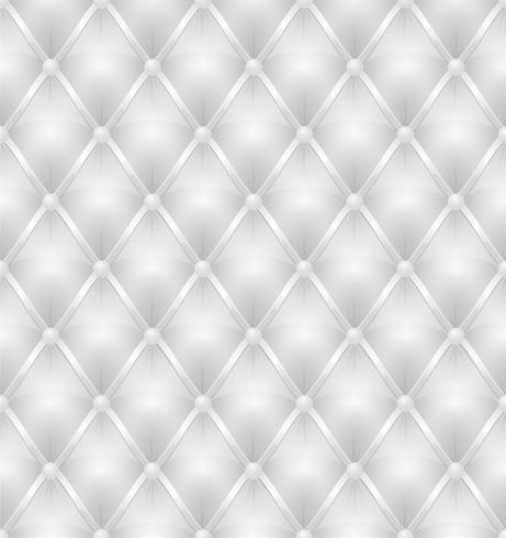 Tapicería de cuero blanco de fondo sin costuras