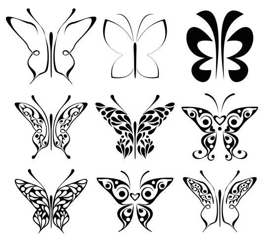 Mariposa - icono de vector