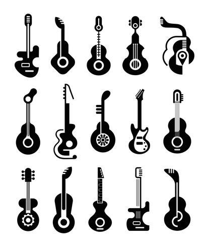 Gitarren-Icons