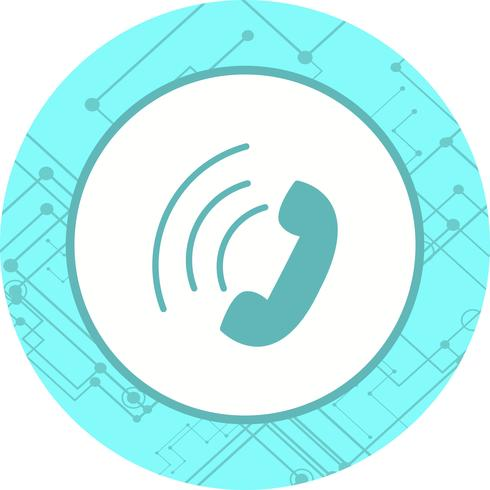 Diseño de icono de llamada activa
