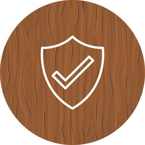 Diseño de icono de escudo