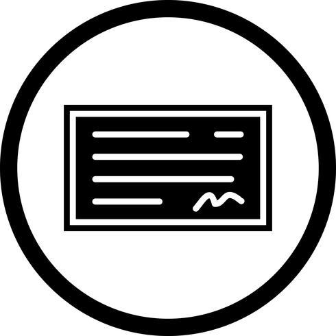 Compruebe el diseño del icono vector