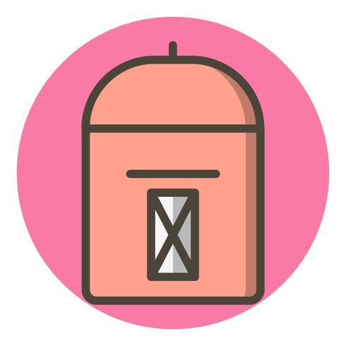 Diseño de icono de buzón vector