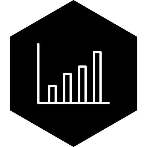 Diseño de iconos de estadísticas vector