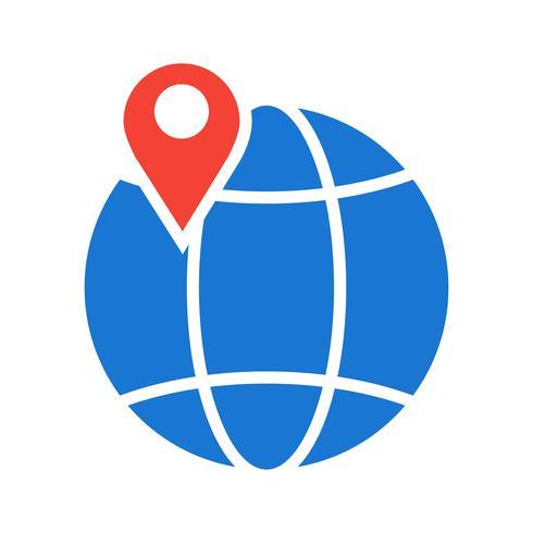 Diseño de icono de globo vector