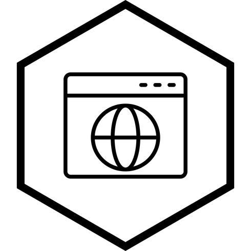 Conception d'icône de navigateur