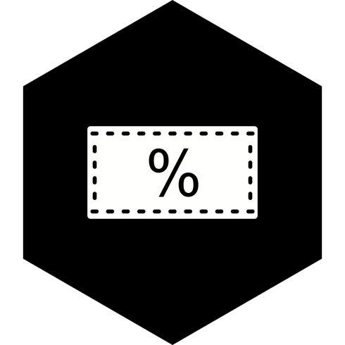 Diseño de iconos de descuento vector
