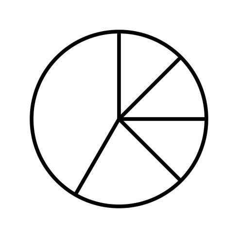 Icono de línea negra vector