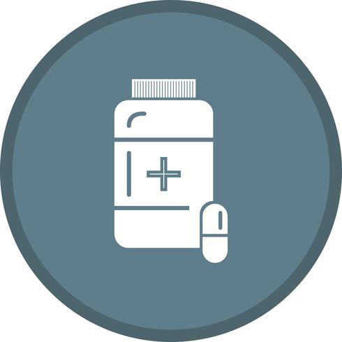 Glifo di medicina multi colore di sfondo