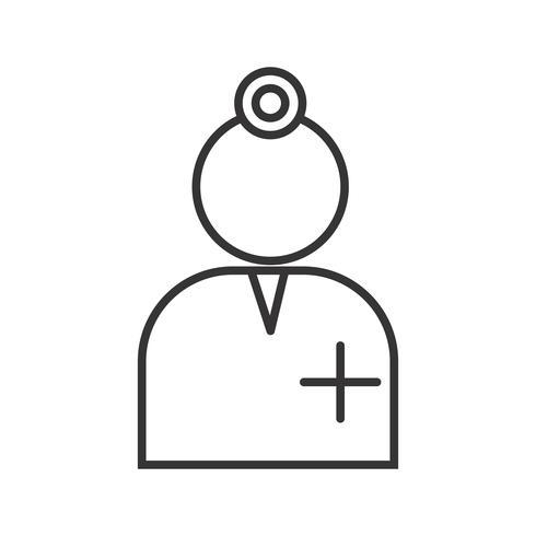Cirujano Line Black Icon