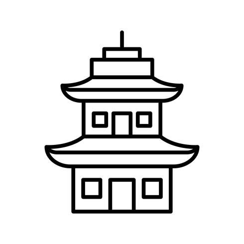 Icono de Temple Line Black