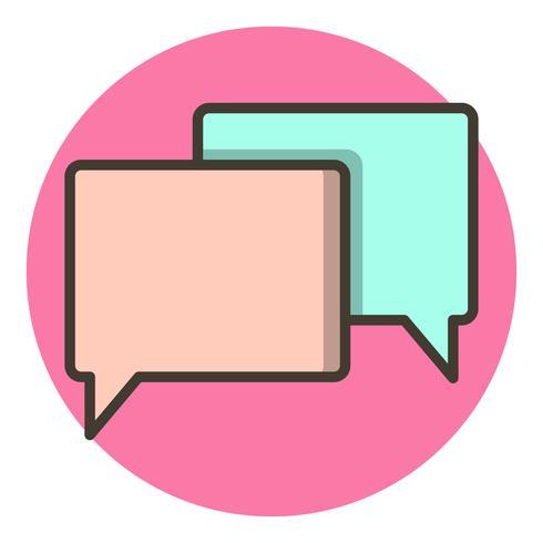 Conversatie Icon Design