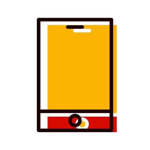 Diseño de iconos de dispositivos inteligentes vector