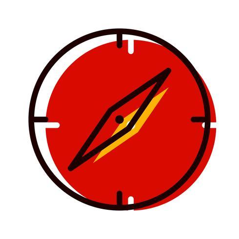 Brújula Icon Design