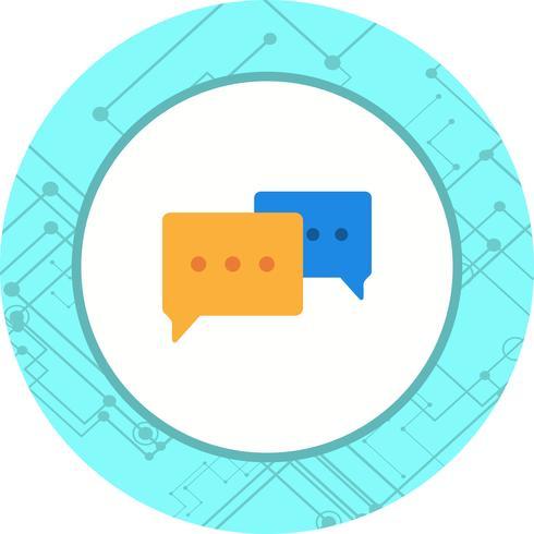 Design de ícone de conversa