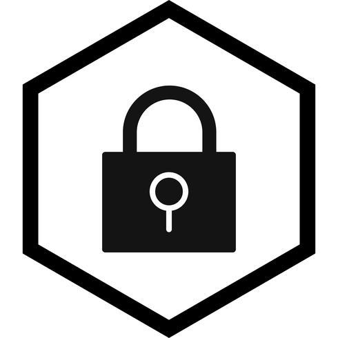 Diseño de icono de bloqueo