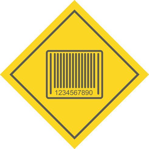 Diseño de icono de código de barras