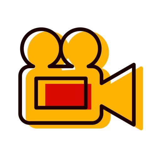 Cámara de video icono de diseño