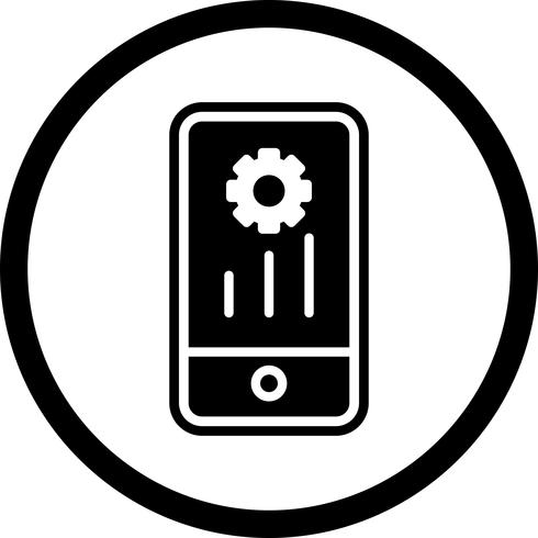 mobiel marketing pictogramontwerp