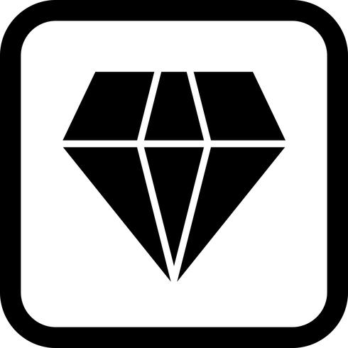 Diamond Icon Design vector