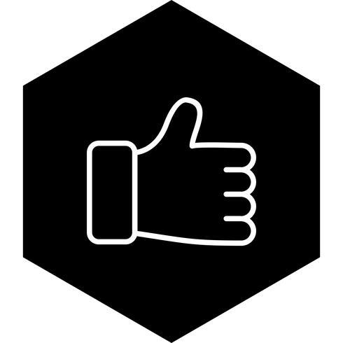 Como icono de diseño vector