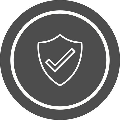 Diseño de icono de escudo vector