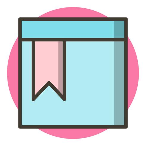Bookmarked Page Icon Design