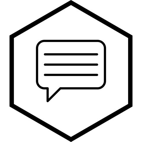 Digitando o desenho do ícone